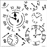Crafters Workshop Template, 12 by 12-Inch, Time Travel