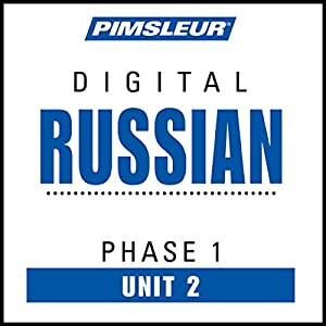 Russian Phase 1, Unit 02 Audiobook