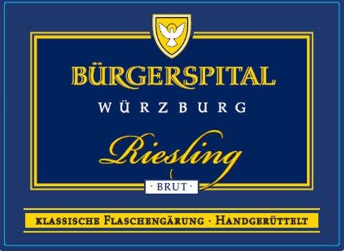Nv Buergerspital Riesling Sekt 750 Ml