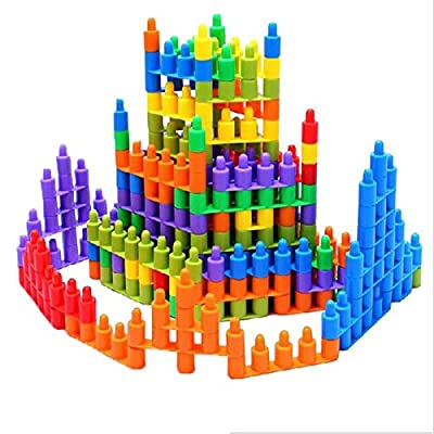 DIY Colorful Bullet blocks baby early childhood education and children's toys assembled plastic toy classic Model brinquedo by GANCAOXING that we recomend personally.