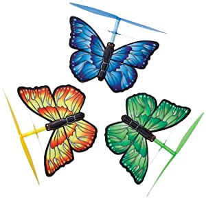 Hearth Song Wind Up Winged Copters- butterfly