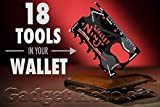 #7: Gadget Hero'sTM Wallet Ninja 18-in-1 Survival Tool Kit Multifunction Useful & Credit Card Style