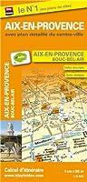 Plan d'Aix-en-Provence (avec plan détaillé du Centre-Ville et localisation des stations v'hello) - Plan de Bouc-Bel-Air