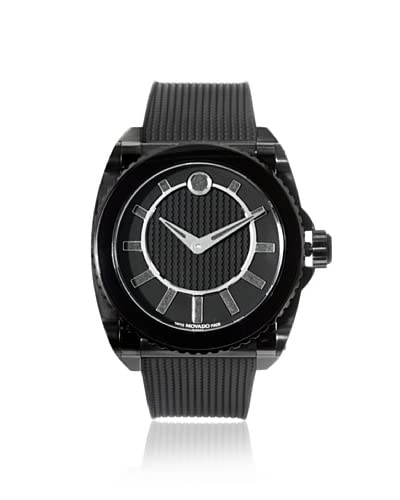 Movado Men's 606363 Master Black Stainless Steel Watch