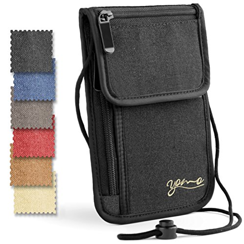 Passport-Holder-by-YOMO-RFID-Safe-The-Classic-Neck-Travel-Wallet
