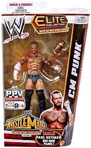 Best of Pay-Per-View 2013 CM Punk Action Figure (Build Paul Heyman