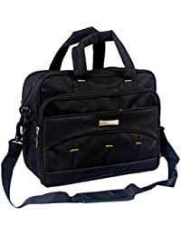 "Stylish 14"" Faux Leather Laptop Sleeve Messenger Sling Office Bag With Shoulder Strap By-Widnes"