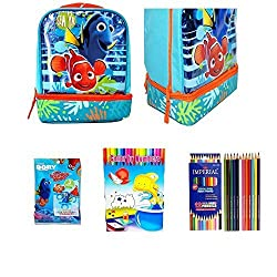 Disney Finding Dory Lunch Bag Back To School Activity Set