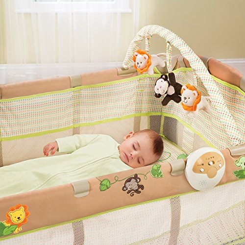 Summer Infant Grow with Me Playard and Changer, Swingin' Safari