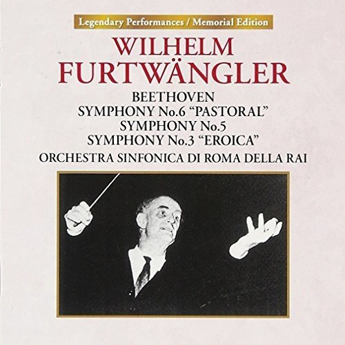 CD : BEETHOVEN / FURTWANGLER, WILHELM - Beethoven Symphony 3 /  Rome (Japan - Import)