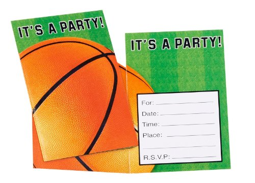 Basketball Invitations [Health and Beauty]