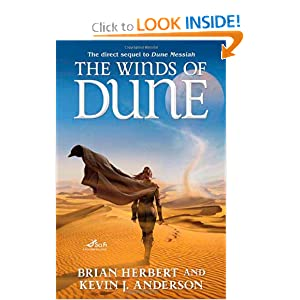 The Winds of Dune (Heroes of Dune #2) by Brian Herbert, Kevin J. Anderson and Steve Stone