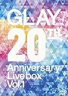 GLAY 20th Anniversary LIVE BOX VOL.1 [DVD](�߸ˤ��ꡣ)