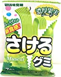 味覚糖 さけるグミ マスカット 7枚×10袋