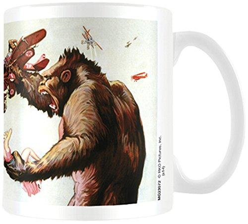 King Kong-Tazza in ceramica
