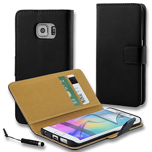 connect-zoner-samsung-galaxy-s7-edge-g935-black-genuine-leather-flip-wallet-case-cover-pouch-screen-