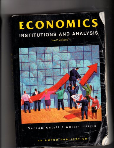 Economics: Institutions & Analysis