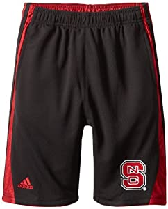 Buy NCAA North Carolina State Wolfpack 3-Stripe Shorts by adidas