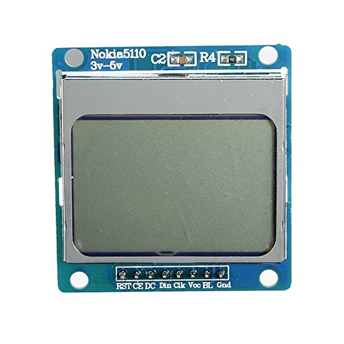 Beautyforall 2Pcs 1.6 Inch Lcd Module Scm Development With Backlight For Nokia 5110