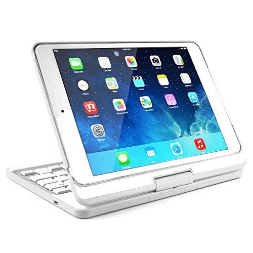 "Generic Wireless 180¡ã Rotatable Bluetooth Keyboard Stand Leather Case For iPad Mini iPad Mini 2 - White ã±â""ã±âƒã±â'ã°â±ã°â¾ã° ã°âºã°â° attic flowers g14qs0628"