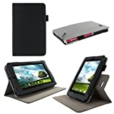 rooCASE Dual-View (Black) Folio Case Cover for ASUS MeMO Pad 7 ME172 Tablet (NOT Compatible with MeMO Pad HD 7 ME173X)