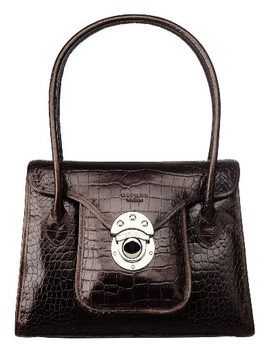 Osprey London Womens The Medium Beetle Ladies Sh Bag Choc