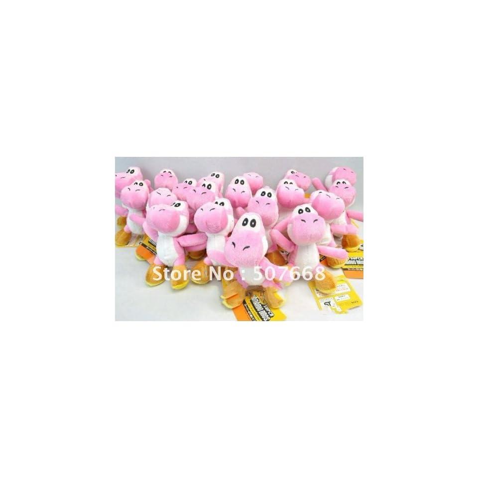 super mario bros yoshi plush anime 4 keychain 200pcs/lot Toys & Games