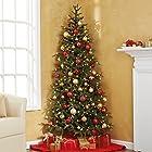 Pre-Lit Fraser Fir Corner Artificial Christmas Tree