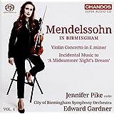 Mendelssohn:Violin Concerto [Jennifer Pike; City of Birmingham Symphony Orchestra,Edward Gardner] [CHANDOS : CHSA 5161]
