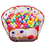 EocuSun Kids Ball Pit Playpen, 39.4-inch by 19.7-Inch with Zippered Storage...