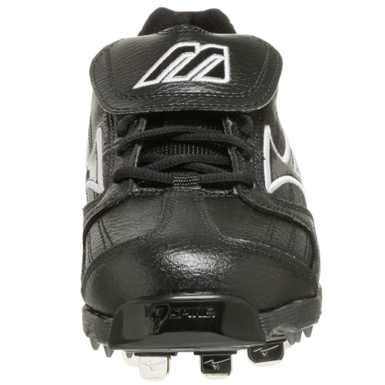Mizuno Men's 9-Spike Classic Low G4 Cleat,Black,8 M