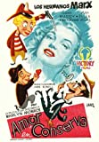 Love Happy Poster Movie Spanish C 11x17 Harpo Marx Chico Marx Ilona Massey Ve...