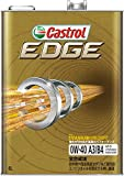 CASTROL(カストロール) エンジンオイル EDGE 0W-40 SN/CF 全合成油 4輪ガソリン/ディーゼル車両用 4L [HTRC3]