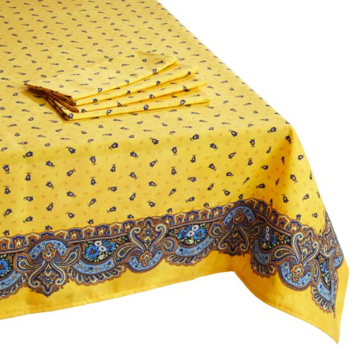 French Provencal Square Tablecloth