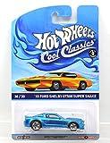 """MATTEL HOTWHEELS 1:64scale """"Cool Classics"""" """"'10 FORD SHELBY GT500 SUPER SNAKE""""(BLUE) マテル ホットウィール 1:64スケール 「クールクラシックス」「2010 フォード シェルビー GT500 スーパー スネーク」(ブルー) [並行輸入品]"""