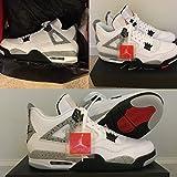 nike air jordan 4 retro OG mens hi top basketball trainers 840606 sneakers shoes