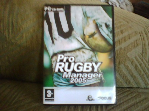 PRO RUGBY MANAGER 2005 PC CD ROM WINDOWS/XP/VISTA