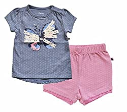 Babeez Baby Girl 2pcs set (Top + Shorts)