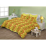 "Birla Century Bedsheet FLORICA Polyester Cotton Blend Double Bed Sheet Size: 88"" X 96"" With Two Pillow Cover Size... - B00MY1HRKE"