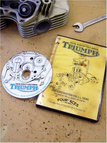 Triumph 650 Motorcycle Rebuild DVD