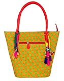 RajRang Handbag (Green) (BAG01644)