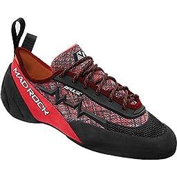Mad Rock Pulse Negative Climbing Shoe Red/Black, 5.0