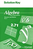 Solution Key for Algebra and Trigonometry: Structure and Method: Book 2