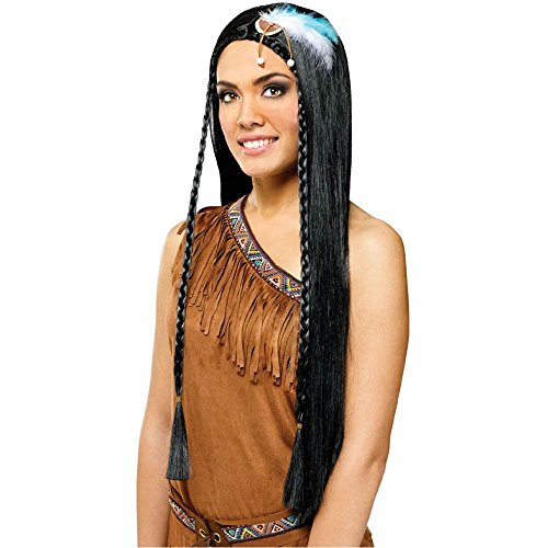 Indian Maiden Wig - One Size