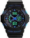Felizer Silicone Belt Black Analog-Digital Watch