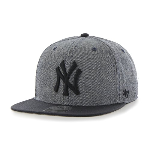 MLB New York Yankees Giovanni Captain Adjustable Snapback Hat, Navy, One Size (Kids Yankee Hat compare prices)