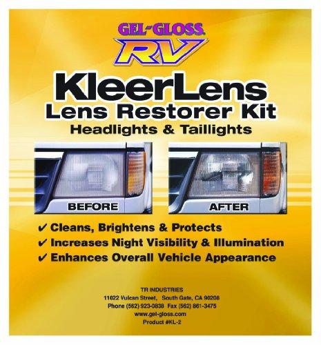 Gel-Gloss RV KL-2 Kleer Lens Restoration Kit