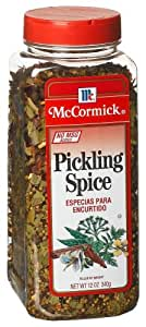 McCormick Pickling Spice (no Msg), 12-Ounce Units (Pack of 3)