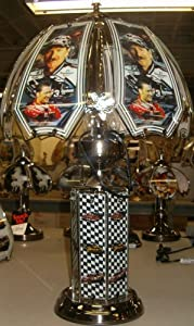 Brand New , Nascar Dale Earnhardt Sr. & Jr. Touch Lamp, 25 Inches