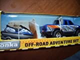 Tonka Off-road Adventure Set - Blue Pick Up Truck with Matching Blue Jet Ski by Funrise [Toy]